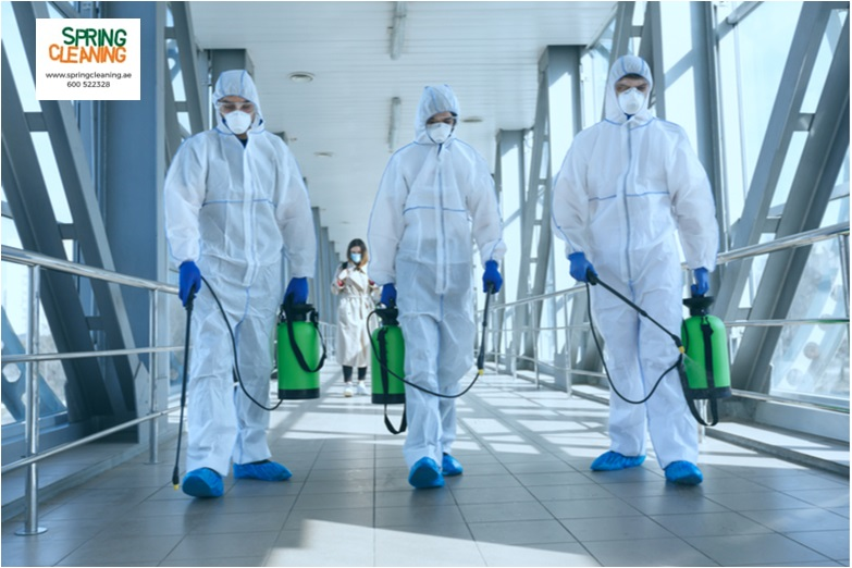 disinfection deep cleaning